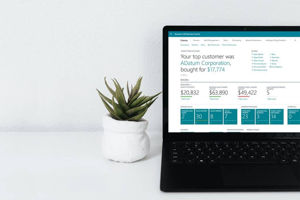 ERP, Progiciel de gestion, ordinateur, Microsoft, Software