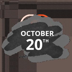 october 20th