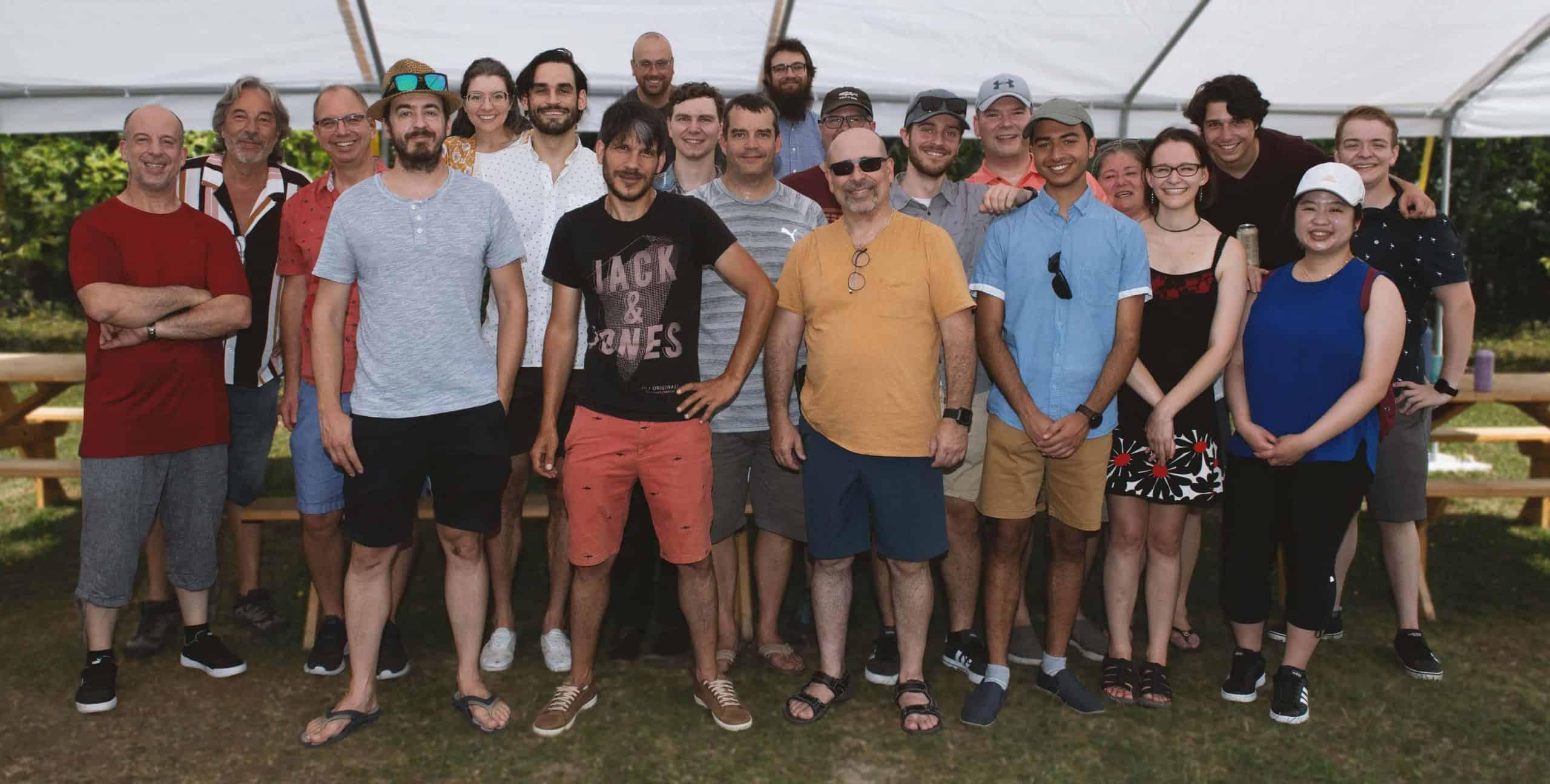 Photo équipe Vokeso Team - Août 2021 August - Partenaire Microsoft Dynamics 365 Partner