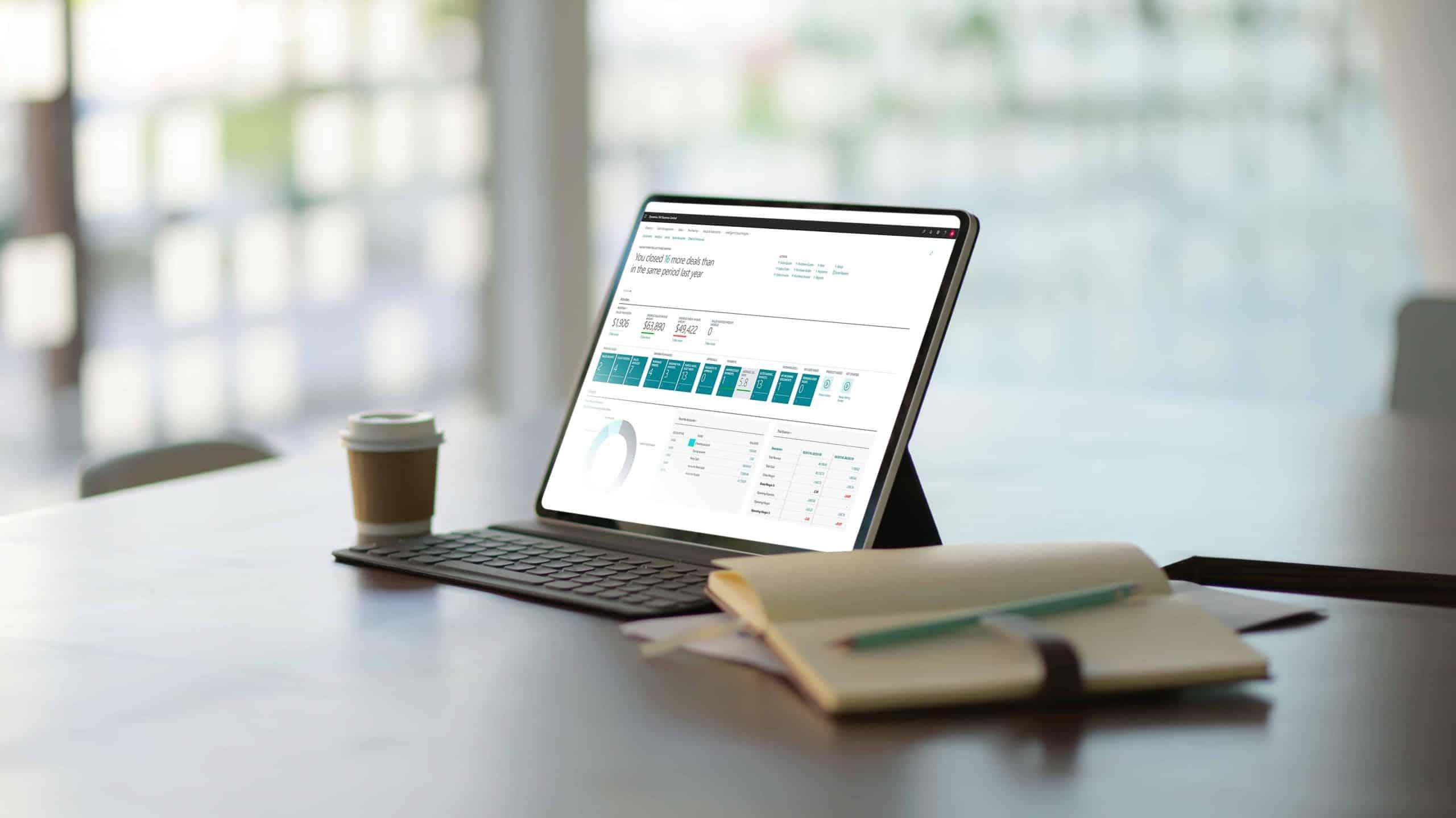 Microsoft Dynamics 365 Business Central Screenshot - tablet