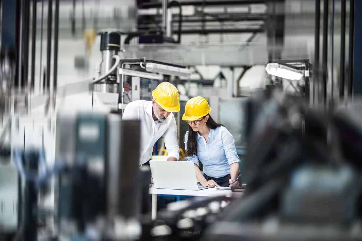 Microsoft Dynamics 365 Business Central - Manufacturing industry - Vokeso